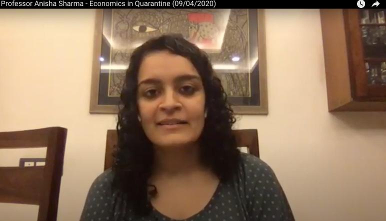 Economics in Quarantine