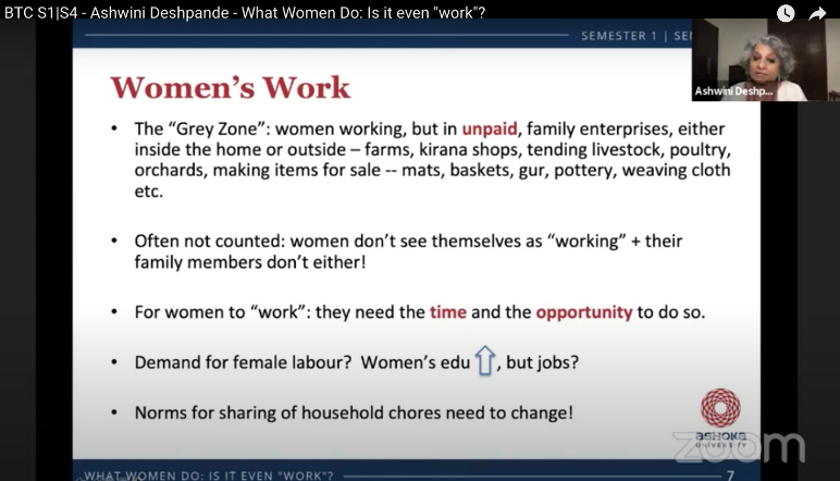 """What Women Do: Is it even """"work"""" ?"""