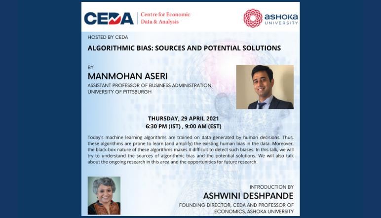 CEDA Lecture | Algorithmic Bias